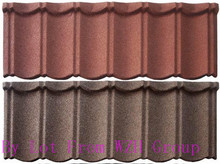 Hot Sale Building Materials colored sand coated steel roof tile