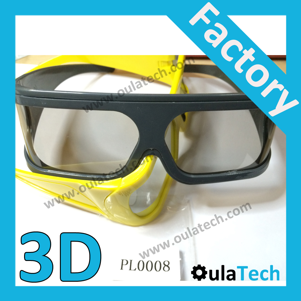 3D Glasses Linear Movie Left /Right for 5D Cinema Passive Polarized