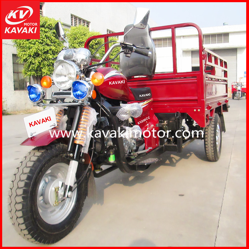 Best-selling Tricycle 150cc gas powered tricycle made in china with 1000kgs loading Capacity