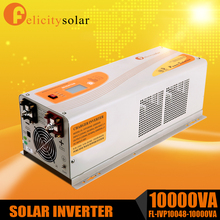 1 phase solar inverter recharger Pure sine wave 10kva off grid inverter from China