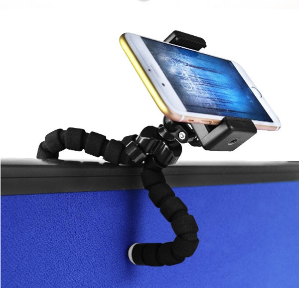 Professional adjustable high quality sponge black tripod for wholesale