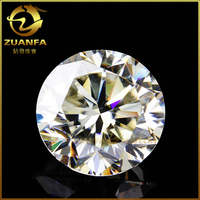 Wholesale near Colorless Moissanite Loose Stones Round Brilliant Cut 3mm