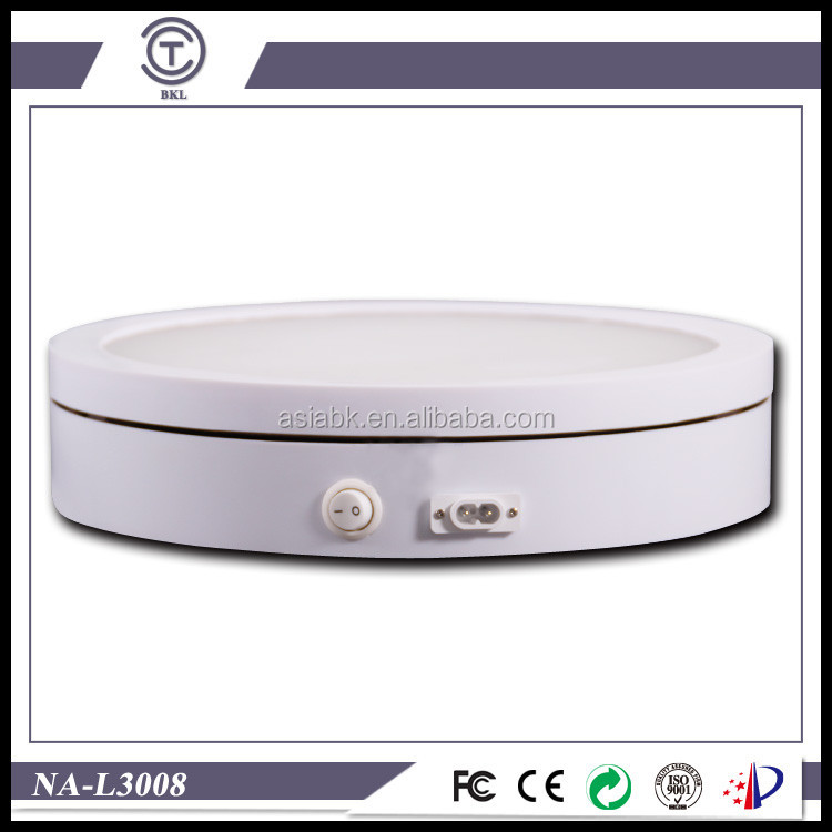 mannequin stand turntable 12''/20''/24'' Europe 3D White Rotating Display simple beautiful rotary disc for Adidas/Nike/Jorden