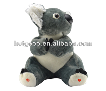 2014 china soft toy top factory price stuffed bluetooth koala doll with speaker