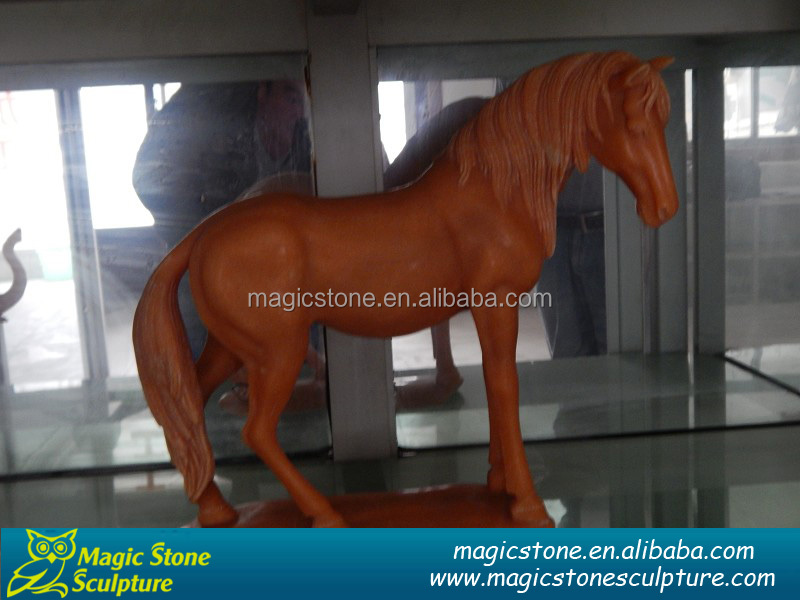 alibaba china cheap onyx carved horse statues