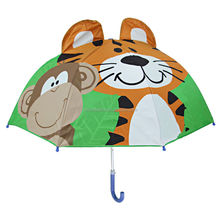 High Quality Tiger Promotional cheap kid umbrella