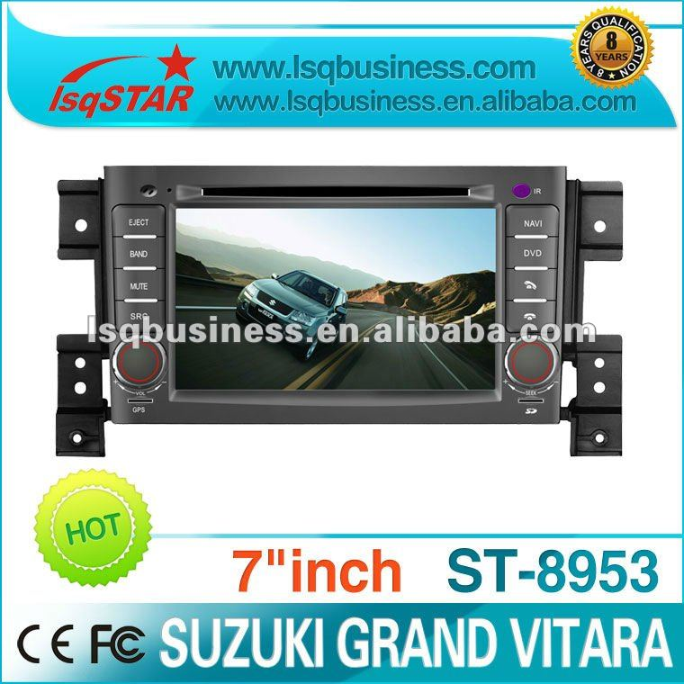 LSQ Star Touch Screen Car DVD Radio GPS navigation systems for Suzuki Grand Vitara Hot selling