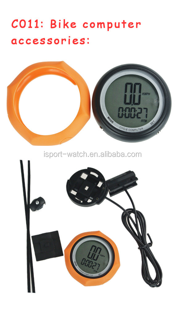 Silicone PRO weatherproof bike cycling computer distance/speed/ calorie burned meter