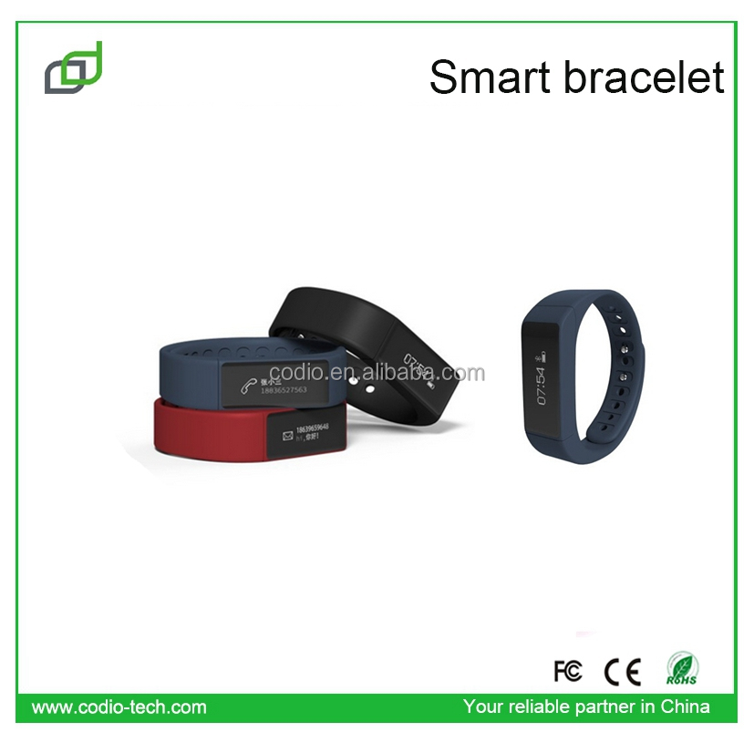 Wristband Bracelet bluetooth android for Smartphone I5 PLUS smart watch