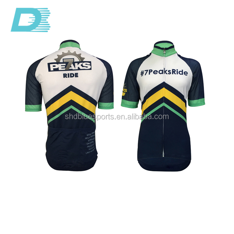 Unisex dye sublimation dirt bike sublimation cycling wear