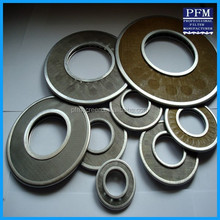 316L sintered porous stainless steel filter 10 micron filter disc