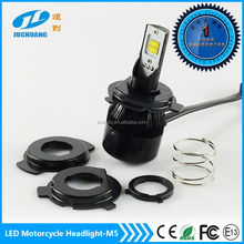 Best Selling led motorcycle headlight 12v 25w 2800lm M5 motorcycle led headlight with CE