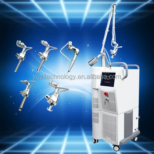 Good result no pain effective fractional co2 laser therapy medical machine