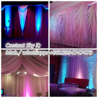 wedding tent decoration pipe and drape-photo booth package