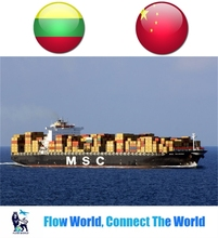 Fast and cheap ocean freight to Lithuania from China ports freight forwarder