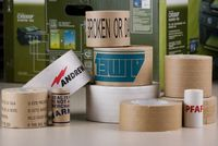 JLN-1100, Water activated reinforced gummed paper tape with high strength, for carton sealing
