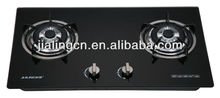 Built-in ceramic glass gas cooktop