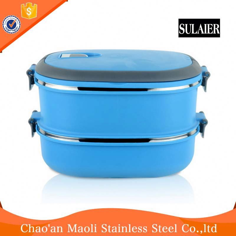 Low Price Top Sale Plastic Insulated Tiffin Food Carrier