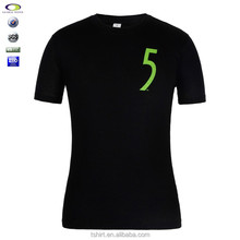 2014 fashion o-neck 60 cotton 40 polyester quality t shirt