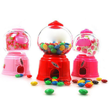 Wholesale Mini Twist Plastic Coin Operated Candy Dispenser Machine Toy