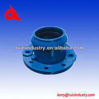 China ductile iron casting pipe sleeve connection pipe