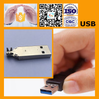 Female USB Cable With USB Parts