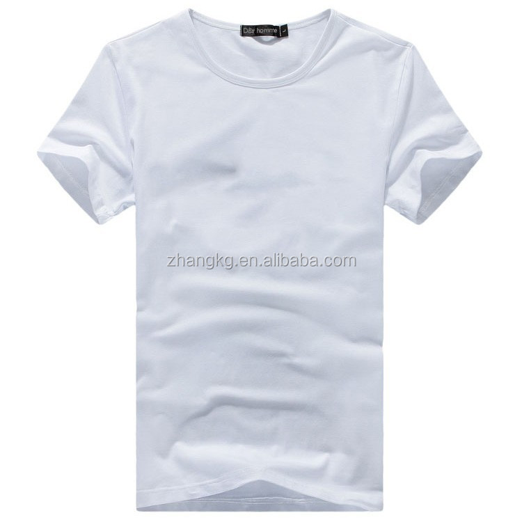 latest nice cotton t-shirt , cheap and good quality cotton t-shirt