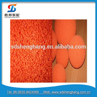 FM/UL certification 5 concrete pump pipe cleaning small rubber balls