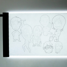 drawing tablets pad artist tattoo board a5 diy light box led tracing