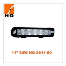 "11"" 60W High Power 10W Each Cree Offroad LED Light Bar"