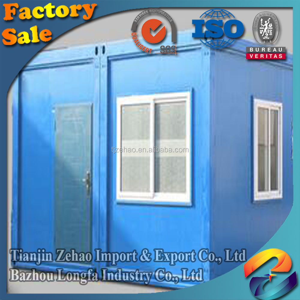Hotel Use easy assemble cheap flat pack container house building