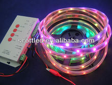 5v ws2813 ws2811 digital rgb led strip, 30 pixel/m dream color led strip lighting