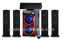 With USB SD FM Remote Control VFD Display 5.1 active speaker