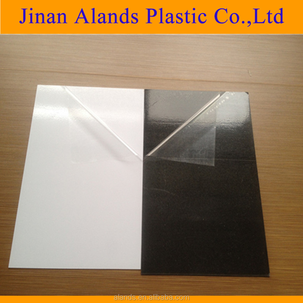 Pvc customized size sheet for photo album, photobooks material adhesive pvc sheet