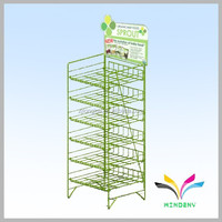High quality metal wire snack rack sliding spice rack