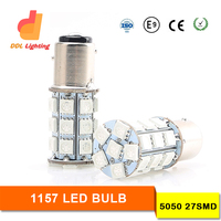 best selling 24v 5050 27SMDcar led bau15s ba15d led 24v car led light 1157 1156 ba15s p21w 24v led 12v ba15d led auto led bulbs