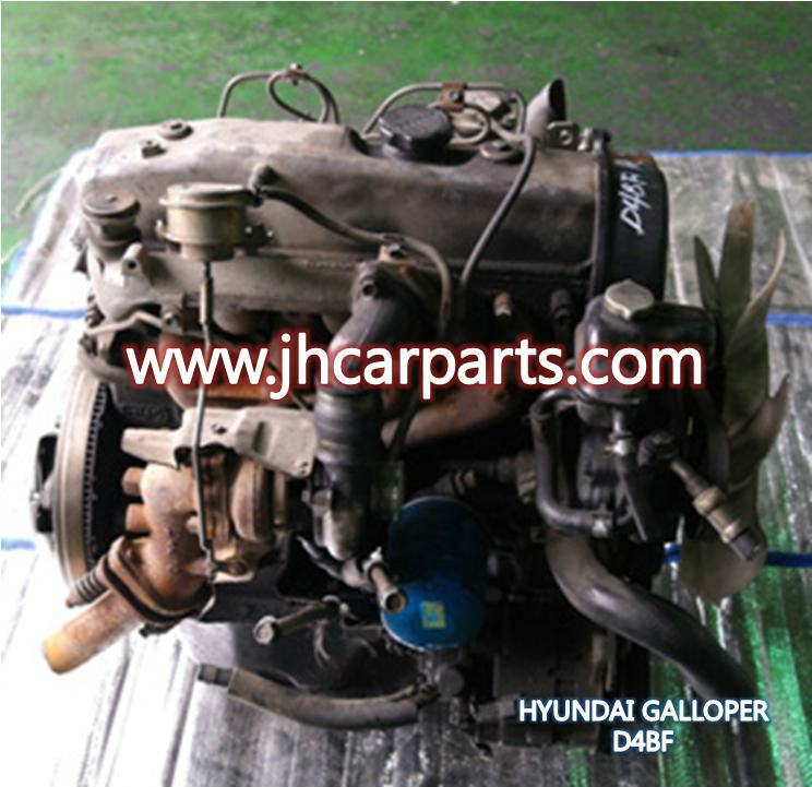 HYUNDAI GALLOPER used engine / D4BF