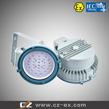 ATEX and IECEX certified explosion proof LED lighting fixture 30W 45W 60W