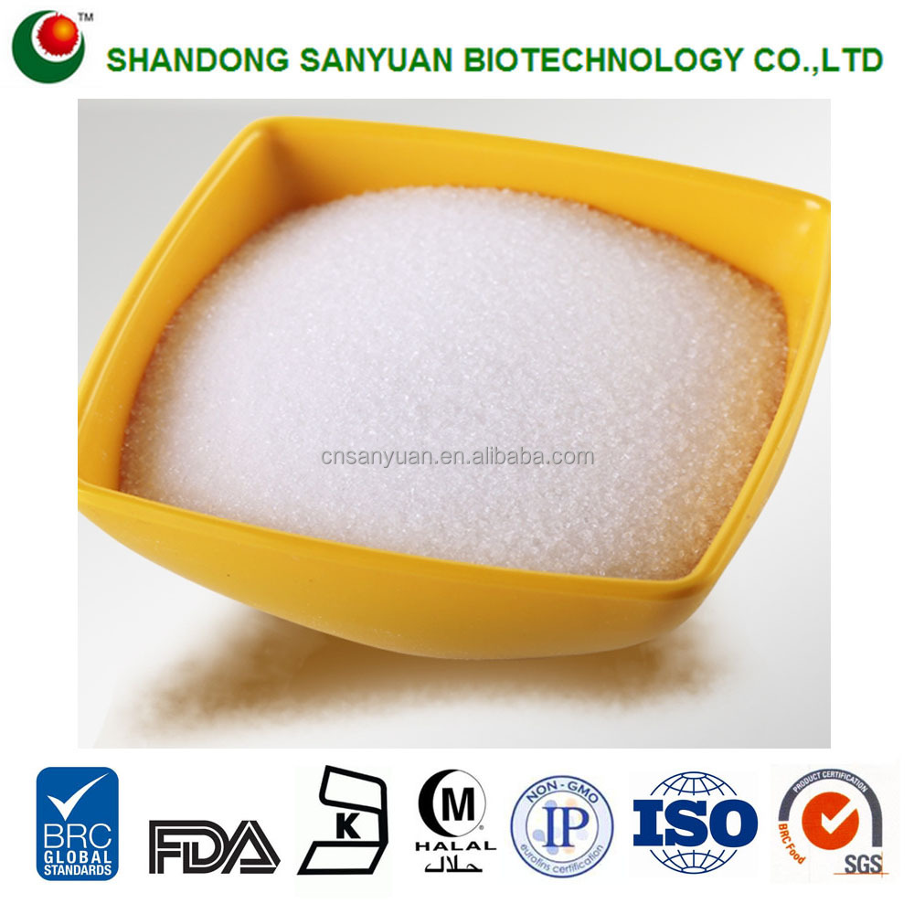 China Healthy Sugar Stevia extract Supplier