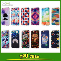 Ultrathin TPU 3D Oil painting design soft case for iPhone 6 plus customized patterns newest