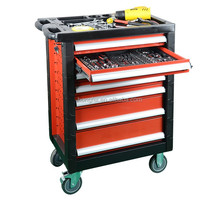 SPCC 1.0mm plastic top large 6 drawer metal steel toolbox