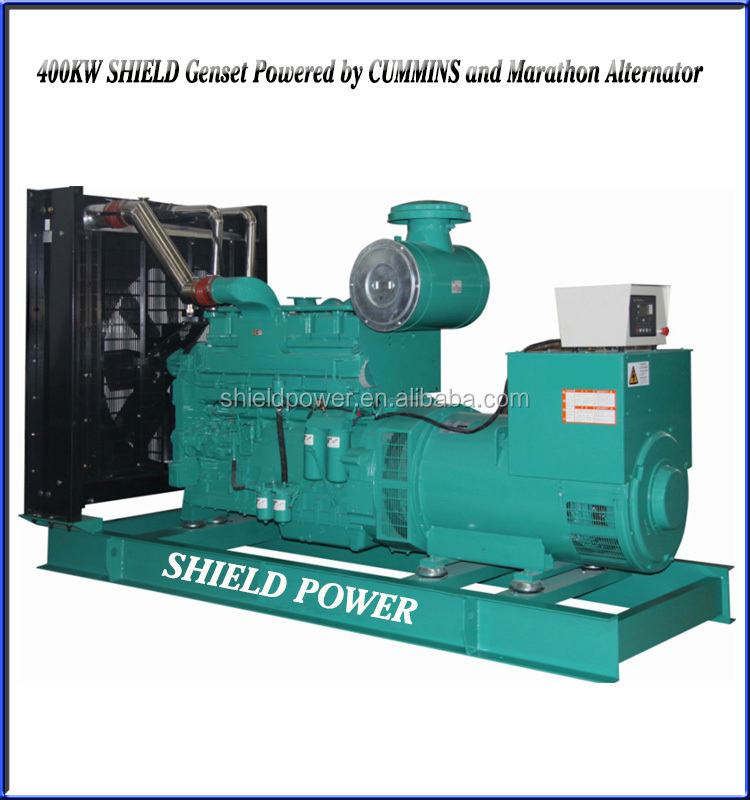 Standby Power 300KW Diesel Generator Set, Open Type Generators Factory
