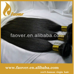2013 virgin human hair,100% brazilian human hair extensions top quality reasonable price 18 inch 3 pcs a dozen