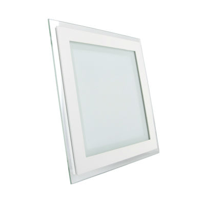 18W LED Panel Downlight Glass - Square Warm White