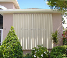 Aluminium accordion shutter