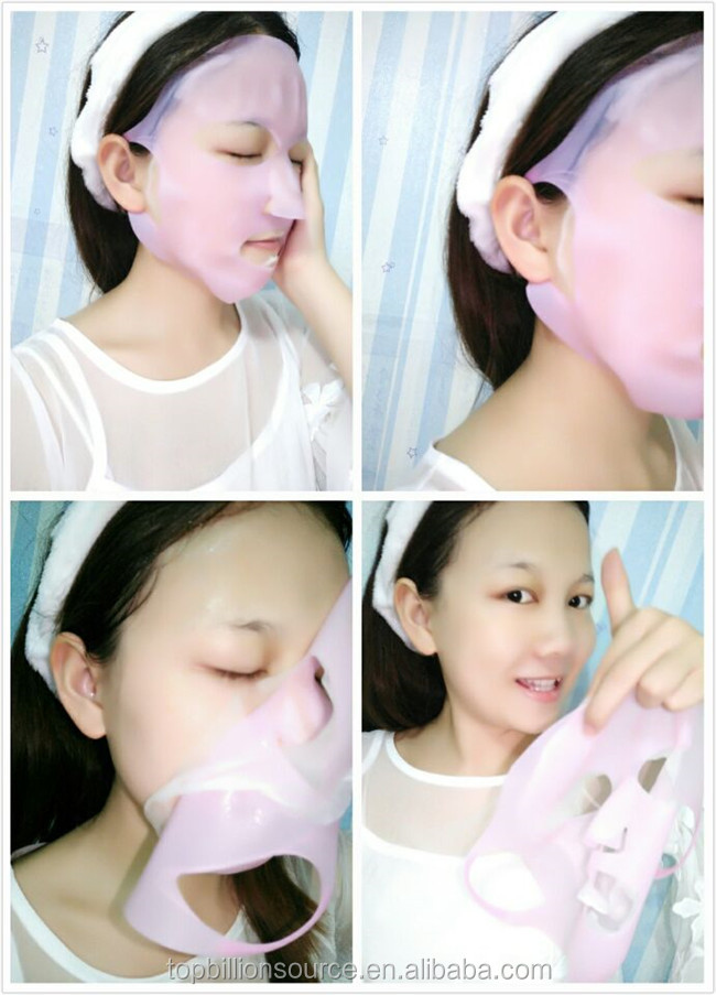 beauty product cosmetic Wrapping Reusable Silicone Mask Cover female Facial Mask