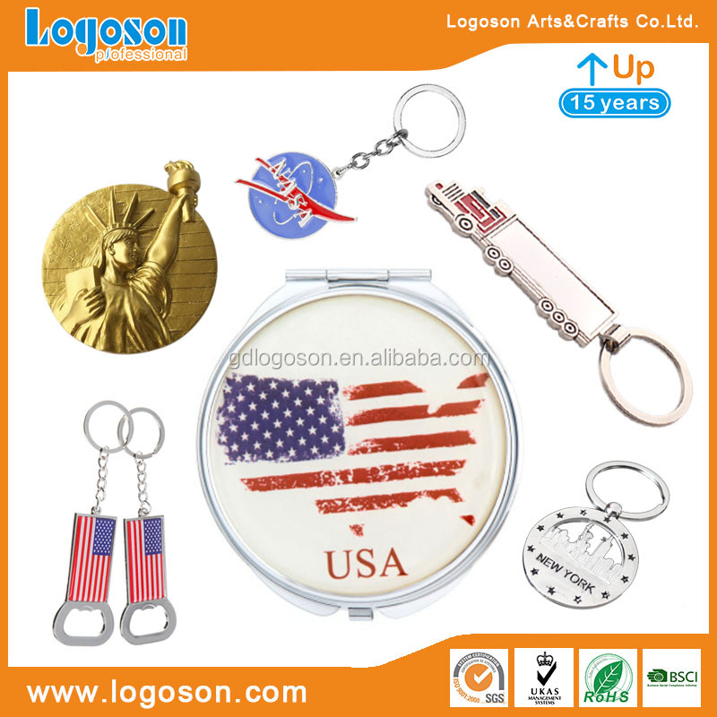 Promotion Gifts USA San Francisco Tourist Souvenir 3D Metal Fridge Magnet Antique Bronze Beer Bottle Opener