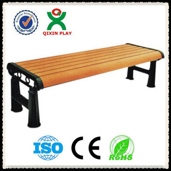 Solid wood garden benches/street bench/parkbench/urban furniture/wooden bench QX-11133A