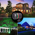 High quality Outdoor star laser light shower RGB Christmas waterproof laser light Garden laser light