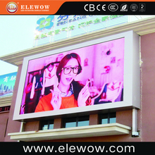 Ultra Slim Led Outdoor building advertising TV Billboard with Video Function